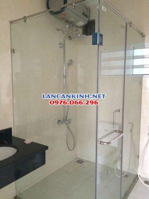 mẫu vách kính phòng tắm